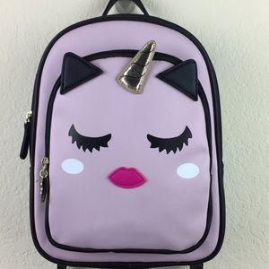 Betsy Johnson Pink Unicorn Small Backpack